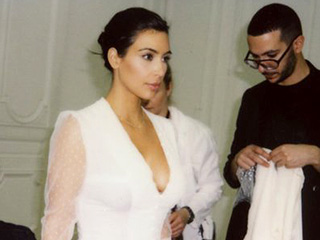 #TBT Mystery! What Happened to This Dress from Kim Kardashian West's Wedding Dress Fitting?
