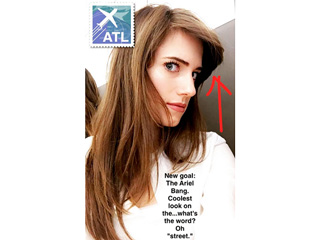 Get Allison Williams a Dinglehopper: She's Getting Hair Inspiration from Ariel These Days