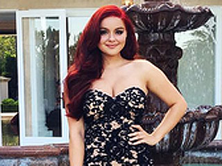 Ariel Winter's Senior Prom Dress Proves She Has a Prom Style Uniform