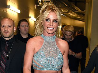 Britney Spears Wears Three Daringly Bare (and Super-Sparkly) Outfits at Billboard Music Awards
