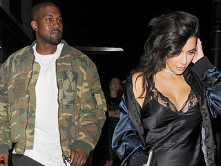 Kim Kardashian and Kanye West Apparently Think It's Fall, Wear Boots (and In Her Case, Not a Ton Else) All Weekend Long