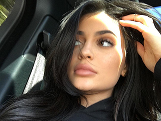 Kylie Jenner Is Sending a Message with Her 'Fake' Sweatshirt, We're Just Not Totally Sure What That Message Is