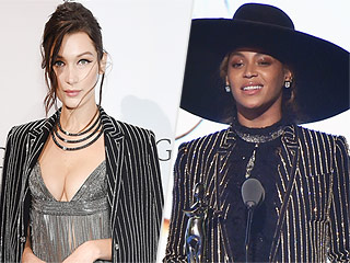 High-Fashion Faceoff: Beyoncé vs. Bella Hadid! (Plus, More Can't-Miss Moments from the CFDA Awards!)