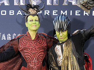 Jamie Lee Curtis and Son Dress Up in Some Serious Costumes to Celebrate Warcraft Premiere