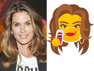 Cindy Crawford Is Coming to Your Cell Phone With Her Own 'Emoleji' (Get It?)