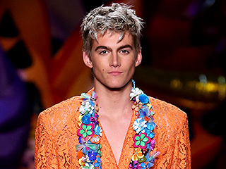 Cindy Crawford's Son Presley (And Anwar Hadid!) Struts His Stuff for Moschino