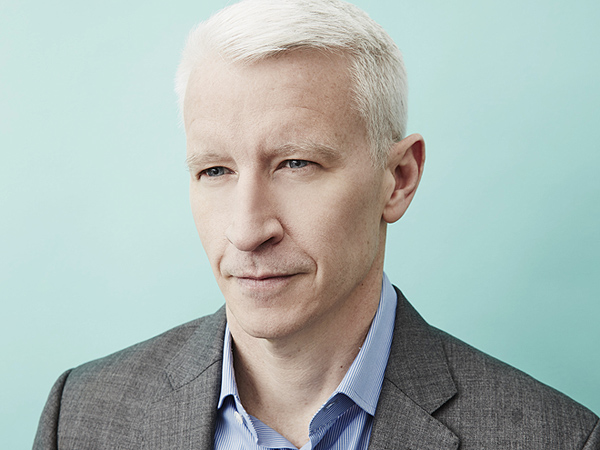 Anderson Cooper white hair