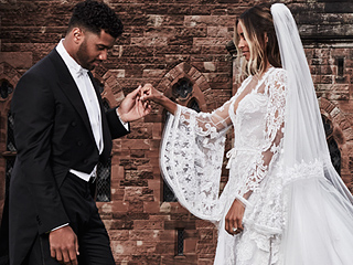 Ciara's Wedding Dress Was So Big It Didn't Fit Inside the Church
