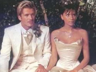 David and Victoria Beckham Share Wedding Photos to Celebrate 17th Anniversary, Remind Us All of Their Epic Ensembles