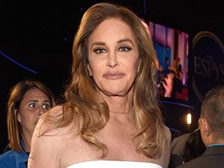 Caitlyn Jenner Thanks Kim Kardashian for Styling Her in White Caped Minidress at ESPYs