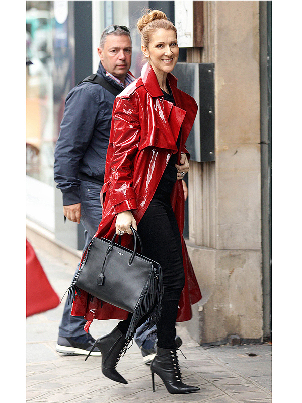 Celine Dion S New Stylist Says The Singer S Really Enjoying Herself Through Fashion After Very