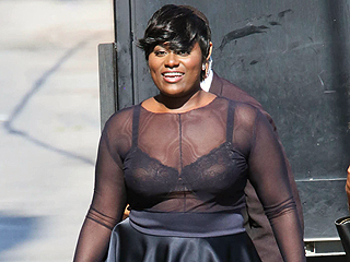 Danielle Brooks Steams Her Own Skirt Just Like the Rest of Us