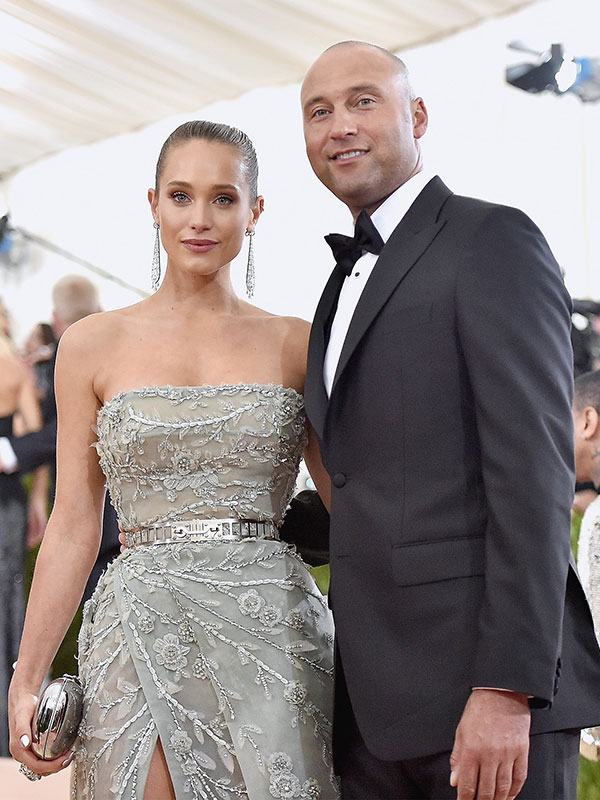 See Hannah Davis Custom Vera Wang Mermaid Wedding Gown