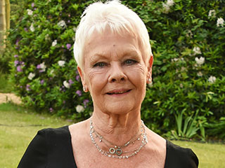 Judi Dench Gets Her First Tattoo at the Age of 81!