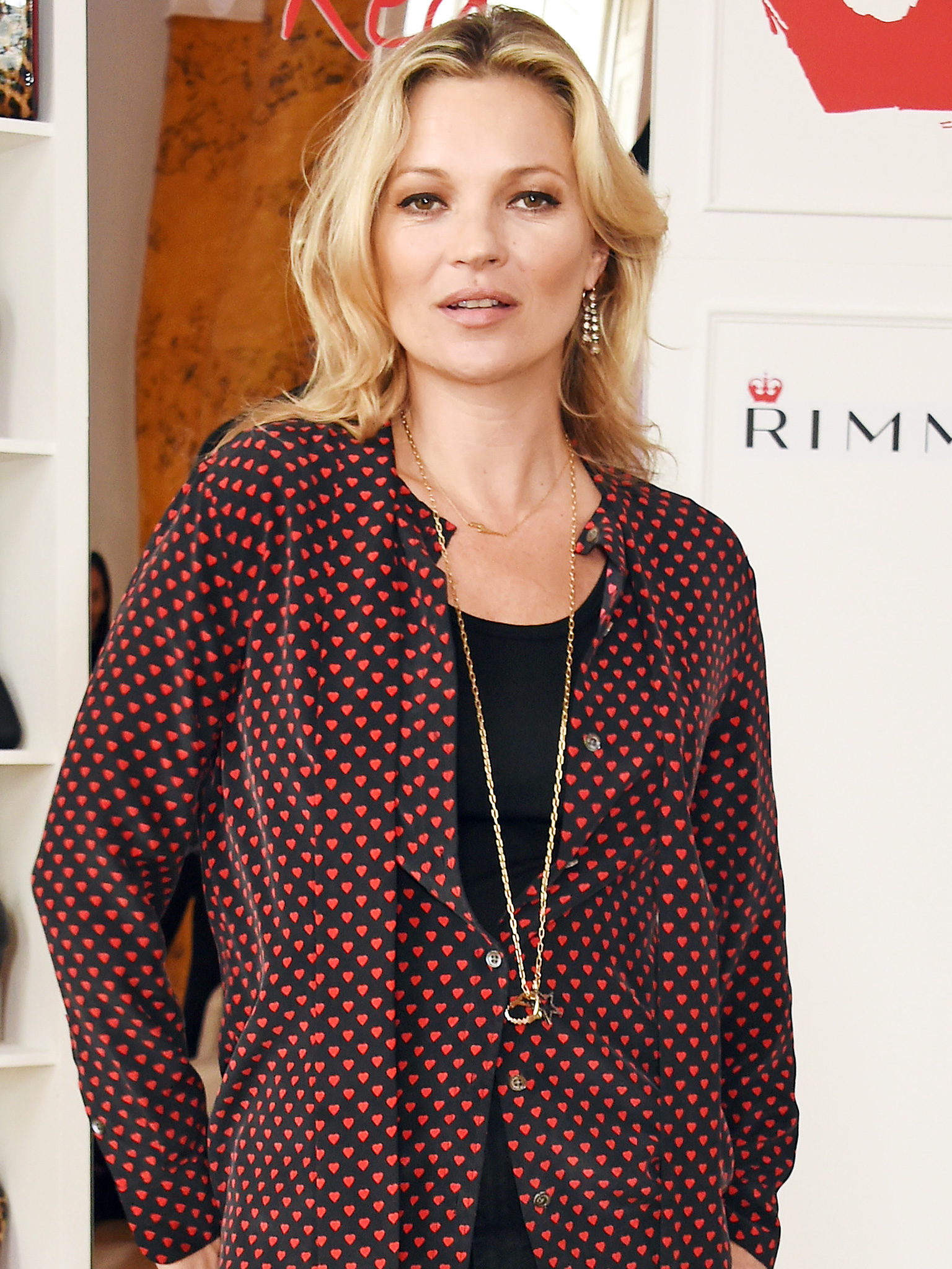 Kate Moss Rimmel London anniversary