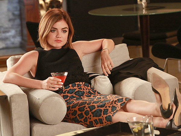 Lucy Hale for Pretty Little Liars