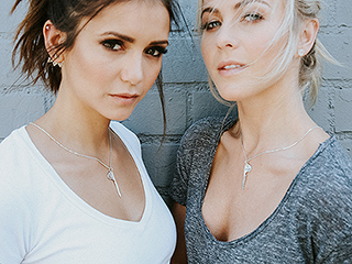 Julianne Hough and Nina Dobrev Are BFFs – and Now They Have the Necklaces to Prove It