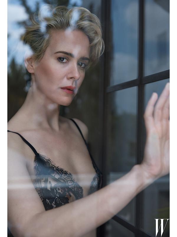 W magazine Sarah Paulson