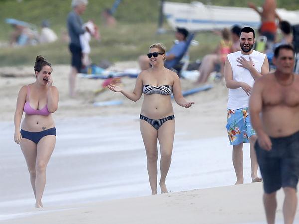 Amy Schumer same bikini for four years