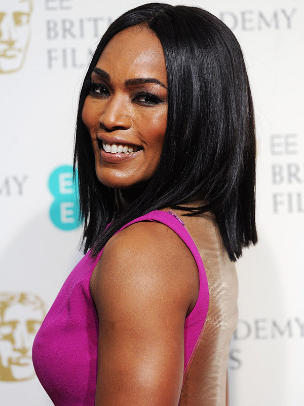 Angela Bassett at the EE British Academy Film Awards