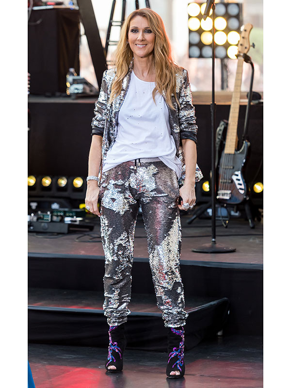 Celine Dion Style New York