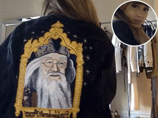 Ariana Grande's Dumbledore Jacket Is Pure Magic (and Sadly, One of a Kind)