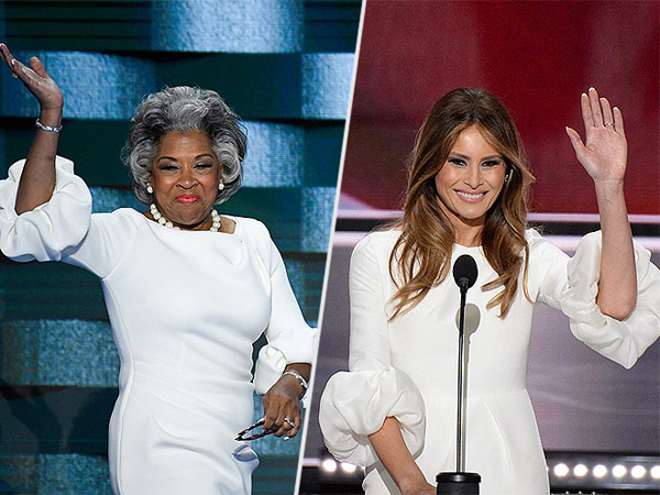 Congresswoman Joyce Beatty Copies Melania Trump's Look