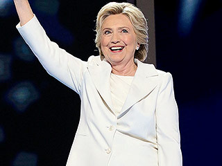 Hillary Clinton's White DNC Pantsuit Is Her Most Powerful Yet: Here's Why