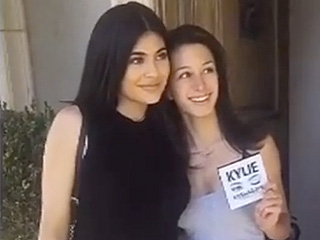 Watch Kylie Jenner Surprise Unsuspecting Fans with Her New 'Kyshadow' Eye Shadow Palette