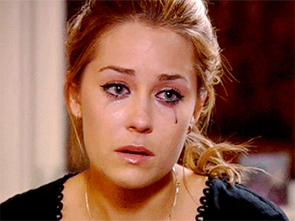 Lauren Conrad The Hills mascara tears