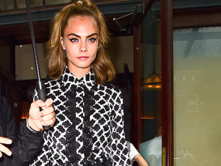 Cara Delevingne Brings Her Supermodel Style to Her Suicide Squad Press Tour