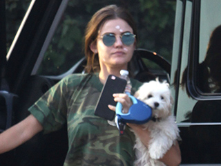 Zit Zapper! Lucy Hale Wears Pimple Cream in Public – and Owns It