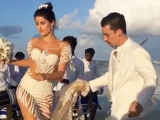 And the Bride Wore – Very Little! Victoria's Secret Model Isabeli Fontana Dares to Bare on Wedding Day