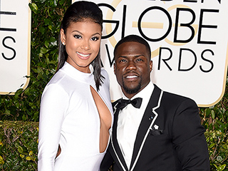 See Kevin Hart and Eniko Parrish's Blindingly Bling-y Wedding Bands