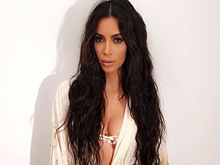 Kim Kardashian Goes Full-On Lady Godiva with Thigh-Length Hair For Her New Photoshoot