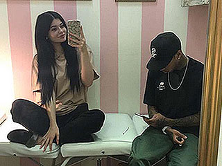 Kylie Jenner Got New Piercings, But She's Making You Guess Where