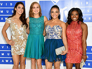 The Final Five's MTV VMAs Dresses Are Nearly as Sparkly as Their Olympic Leotards