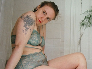 Lena Dunham and Jemima Kirke Strip Down for Lonely Lingerie's Latest Campaign