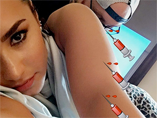 Demi Lovato on Her New Body Art: 'Why Is the Feeling of Getting Tattooed So Addicting?'