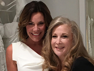 All About Luann de Lesseps' Three Wedding Dresses, Straight from the Designer