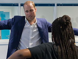 Prince William Busts a Move: 'I Can Never Get the Shoulder Shiver Right!'