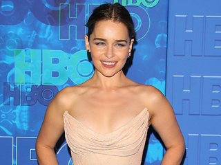 Emilia Clarke Will Not Be Making Excuses for Her Airport Outfit Today After an Emmys Celebration with 'Mr. Alcohol'