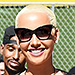 Amber Rose Rocks Black Bodysuit for Second Annual SlutWalk