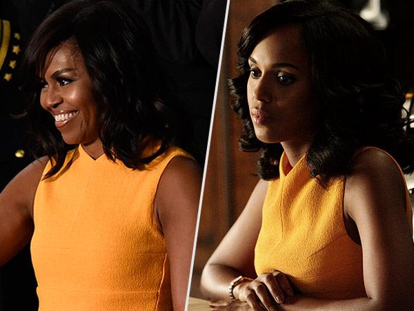 Michele Obama Kerry Washington Scandal