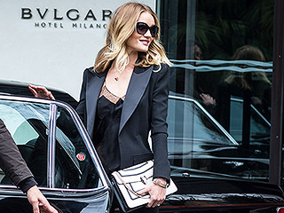 Rosie Huntington-Whiteley Makes the Sidewalk a Catwalk, and Even More A-List Star Snaps from Milan Fashion Week and Beyond!