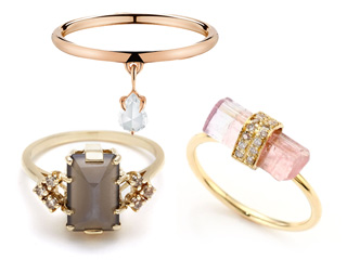 12 Seriously Stunning (and Totally Unique) Engagement Rings You'll Want to Say 'Yes' To