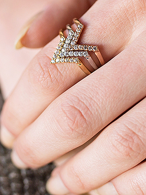Sparkly, Stackable Rings for a Price You Won't Believe