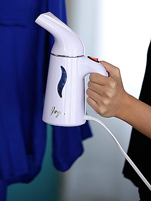 WATCH AND SHOP: The (Cheap!) Steamer You Can Even Use on Leather and Sequins
