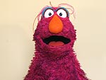 Watch What Happens When the Sesame Street Telly Monster Takes Over Our Studio