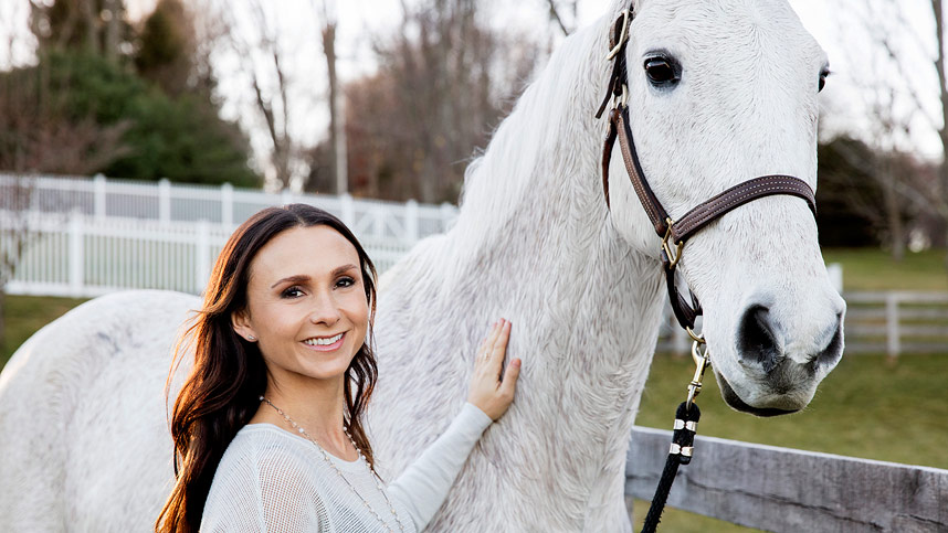 Georgina Bloomberg + Puppies, Horses and Toddler = The Cutest Video You'll Watch Today